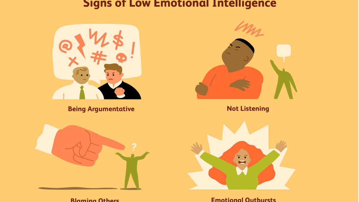 """9 Signs of Low Emotional Intelligence"""
